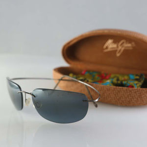 Vintage Maui Jim sunglasses, Ti polarized gradient